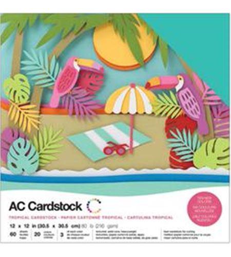 Pack de papel-cartulina - tropical - 376991