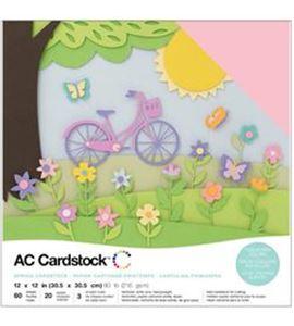 Pack de papel-cartulina - primavera - 376993