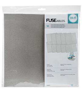 Pack de hojas transparentes fuseables - 660871
