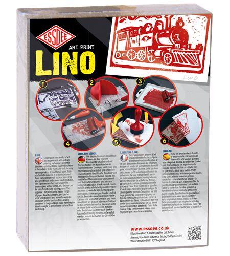 Set de 10 láminas de linóleo 203x152mm - LINO 10 PACK '17 COPY