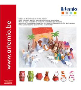 Belén y decoraciones de navidad para montar - 11002138