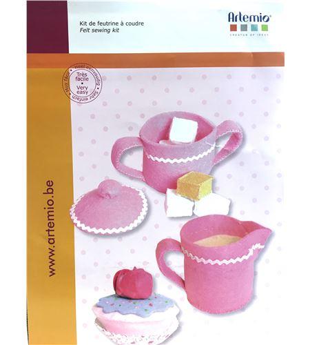 Set de fieltro para coser - tea time - 13070056