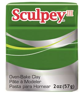 Sculpey iii - leaf green 57gr. - 3322