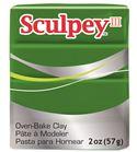 Sculpey iii - leaf green 57gr.