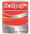 Sculpey iii - red hot red 57gr.
