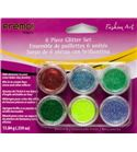 Kit de purpurina de colores brillantes