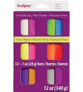 Estuche sculpey colores brillantes - S3VMB6