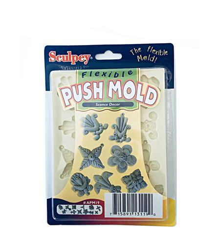 Molde sculpey - candeleros - 9319