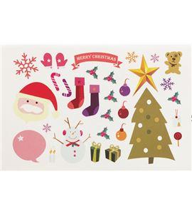 Vinilo de pared - feliz navidad (48 x 32cm) - 22001011