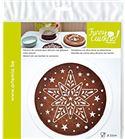 Plantilla para decorar tartas - estrella