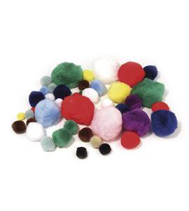 Set de pompones de colores - 7657449