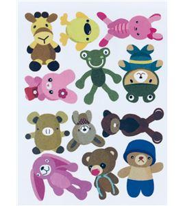 Vinilo de pared - muñecos infantiles - 22002004