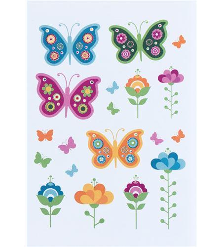 Vinilo de pared - mariposas - 22002006