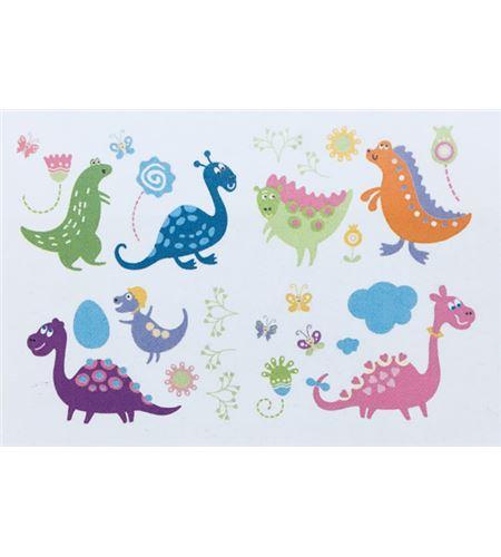 Vinilo de pared - dinosaurios (48 x 32cm) - 22004008
