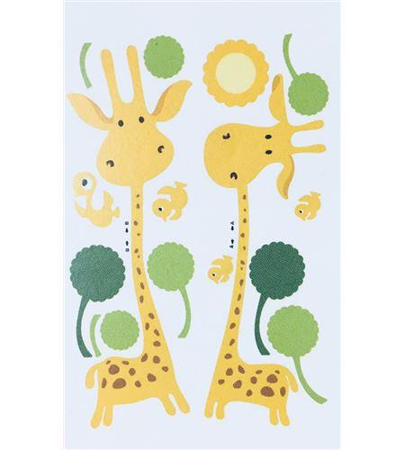 Vinilo de pared - jirafas (48 x 32cm) - 22004014