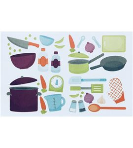 Vinilo de pared - cocina (48 x 32cm) - 22004016