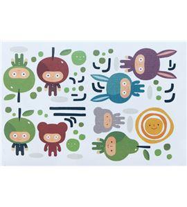 Vinilo de pared - personajes infantiles (48 x 32cm) - 22004017