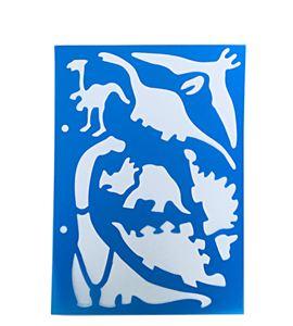 Plantilla / stencil - dinosaurios - 7250120019