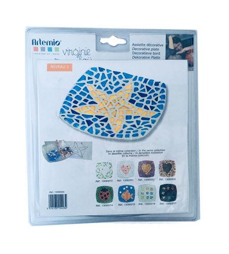 Kit infantil de mosaico - bandeja decorativa estrellita - 13090004