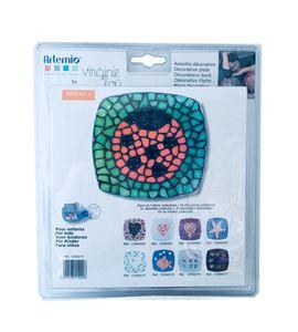 Kit infantil de mosaico - bandeja decorativa mariquita - 13090014