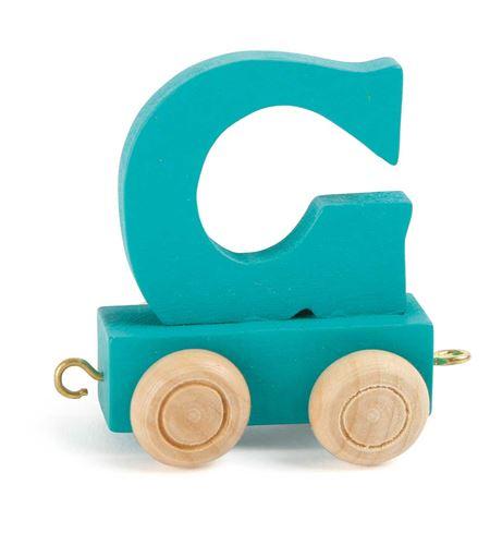 Tren de letras colorido g - 10357