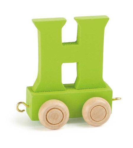 Tren de letras colorido h - 10358