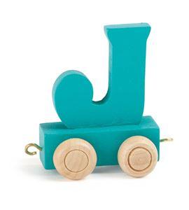 Tren de letras colorido j - 10360