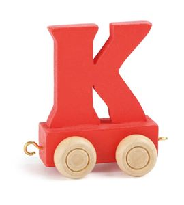 Tren de letras colorido k - 10361