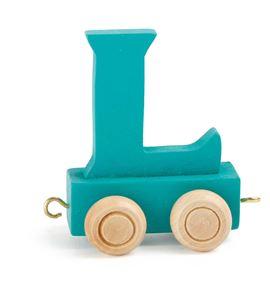 Tren de letras colorido l - 10362