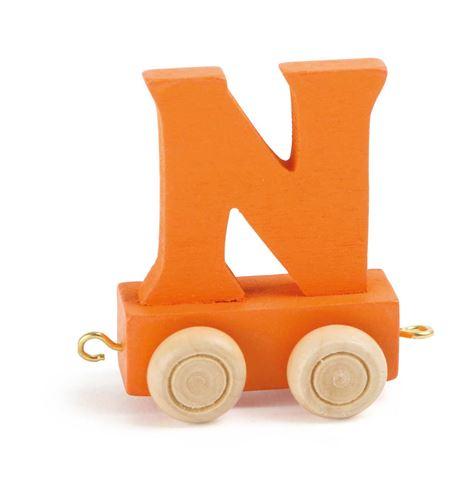 Tren de letras colorido n - 10364