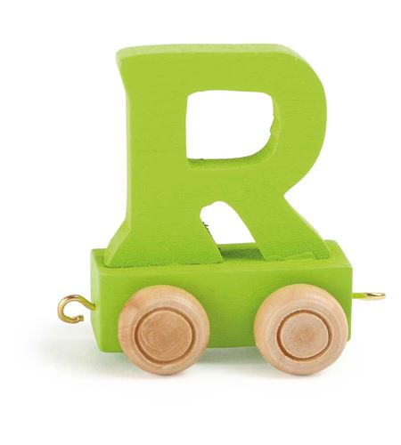Tren de letras colorido r - 10368
