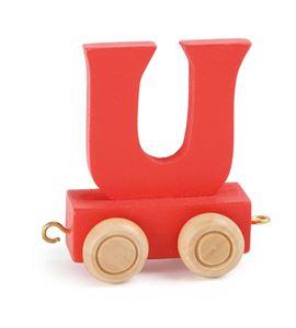 Tren de letras colorido u - 10371