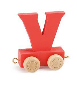 Tren de letras colorido v - 10372