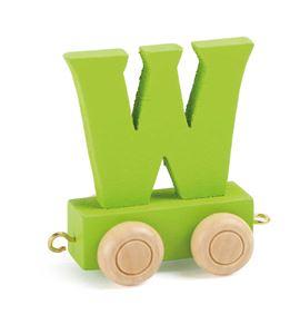 Tren de letras colorido w - 10373