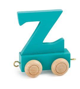 Tren de letras colorido z - 10376