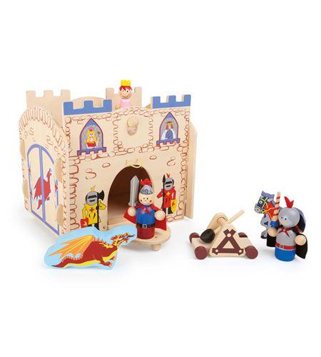 Mundo de juego, castillo medieval - 10389
