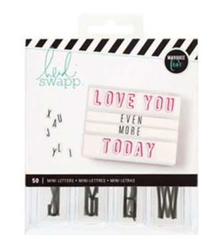 Mini letras para caja de luz de heidi swapp - 312893