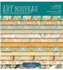 Bloc de papel de scrapbook - art nouveau