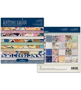 Bloc de papel de scrapbook - gaudí - TTB01 AG14