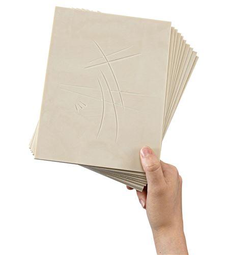Pack de 10 hojas de carvado softcut - 20x15cm. - 3.0-SC3