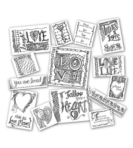 Pack de papel zentangle - 20918