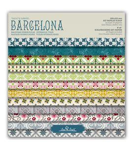 Bloc de papel de scrapbook - barcelona - BCN13 MTP001