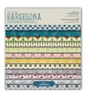 Bloc de papel de scrapbook - barcelona