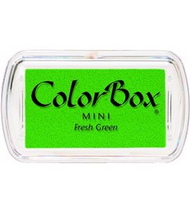 Tampón de tinta mini colorbox - fresh green - CL74022