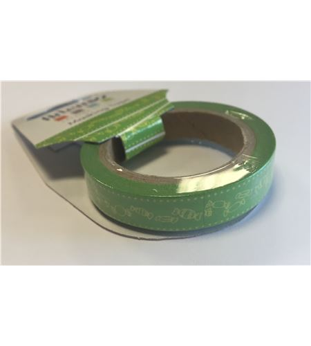 Masking tape verde - caramelos - 11006748