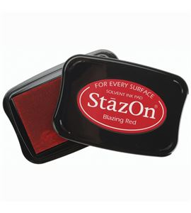 Tampón stazon - blazig red - TSSZ21