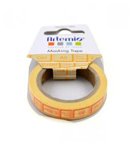 Masking tape beige - teclado ordenador - 11006749