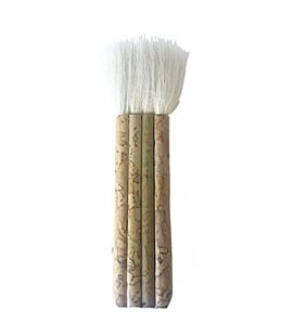 Pincel de pelo de cabra y mango de bambú nº4 - 577145