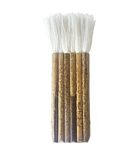 Pincel de pelo de cabra y mango de bambú nº6 - 577146