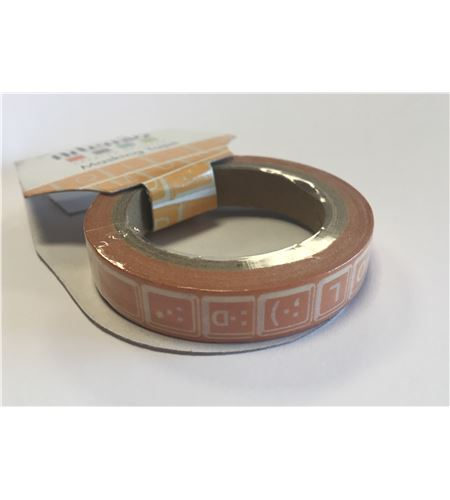 Masking tape naranja - teclado ordenador - 11006750
